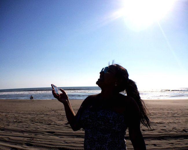 Portrait Of A Friend beach sun sunset