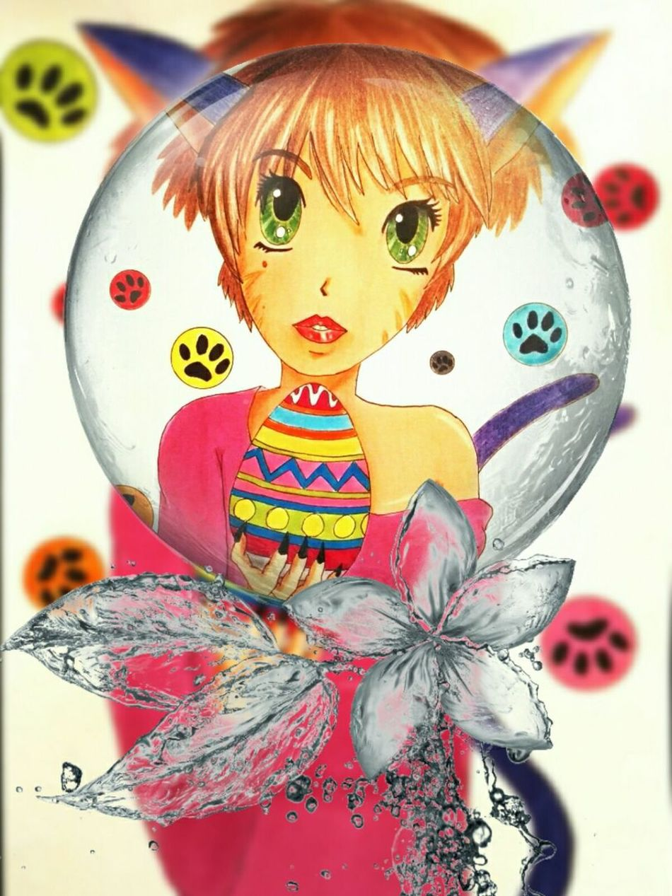 Happy easter 😊 No People Art And Craft Multi Colored Easter Easter Ready Celebration France French Draw Drawing Drawings Dessin Manga Art Getting Inspired Getting Creative Macro
