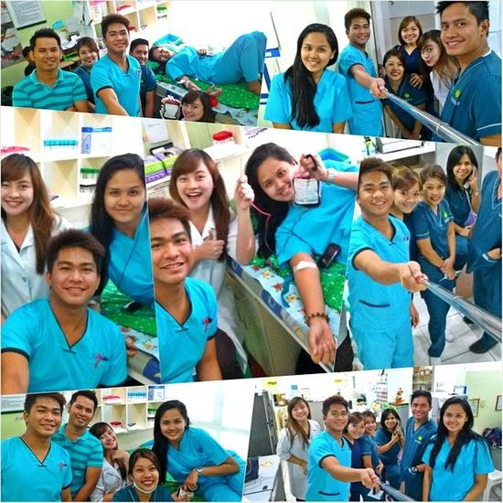 Labmates on duty ??