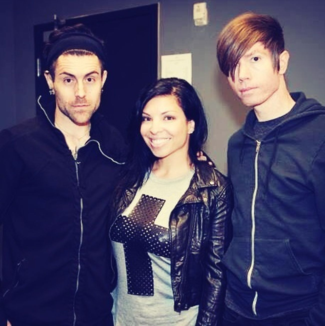 It was an honor to finally chat up Davey & Jade! @AFI Houston