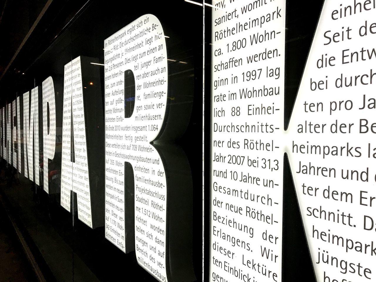 Text Communication Paper No People Close-up Information Indoors  Day Erlangen Germany Röthelheimpark