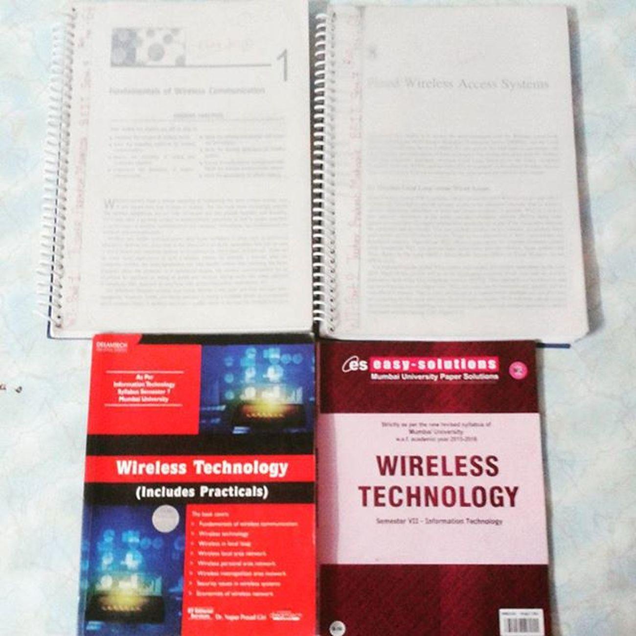 Exam Ucoe Ucoe2015 Beit sem7 IT subjects wirelesstechnology