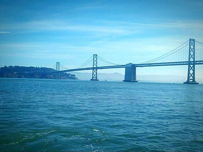 San Francico My Point Of View This Week On Eyeem San Francisco Bay Water My Photography Landscape #Nature #photography Bridge Porn Nature Photography Original Bay Bridge Mountains And Water