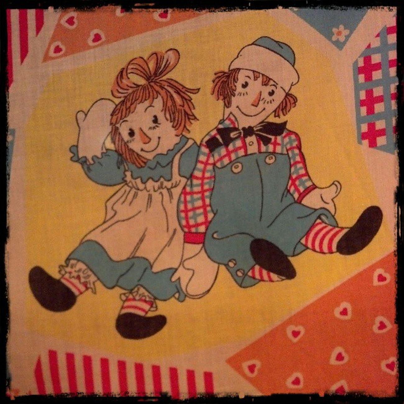 My Vintage Raggedyann & Andy Curtains Parkroseoregon DroidRazr