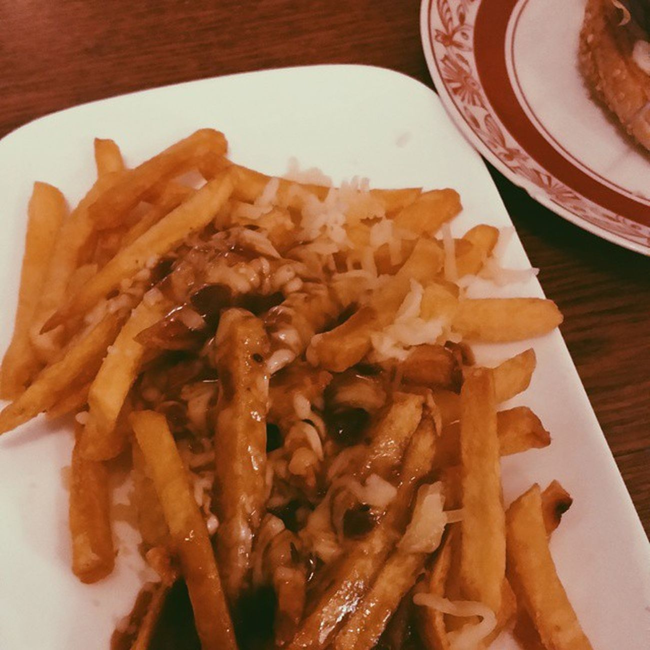 Poutine a Berlin - my first ever Poutine //Poutine Berlin Vscocam Canada Quebec Montreal