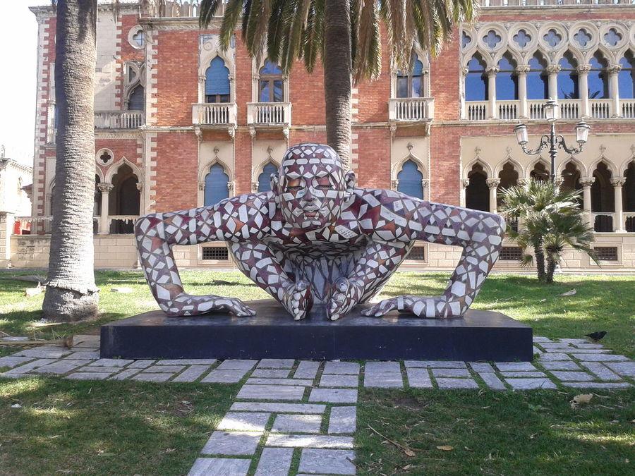 Art Colors Culture Outdoors Park Reggio Di Calabria Statue Street
