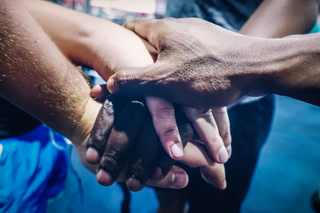 At The Gym African Ethnicity Close-up Diversity Exercising Fitness Gym Hands Handshake Health Healthy Lifestyle, Indoor Indoors  Lifestyles Male Man Muscle People Recreation  Sport SUPPORT Team Teamwork Training Unity Workout