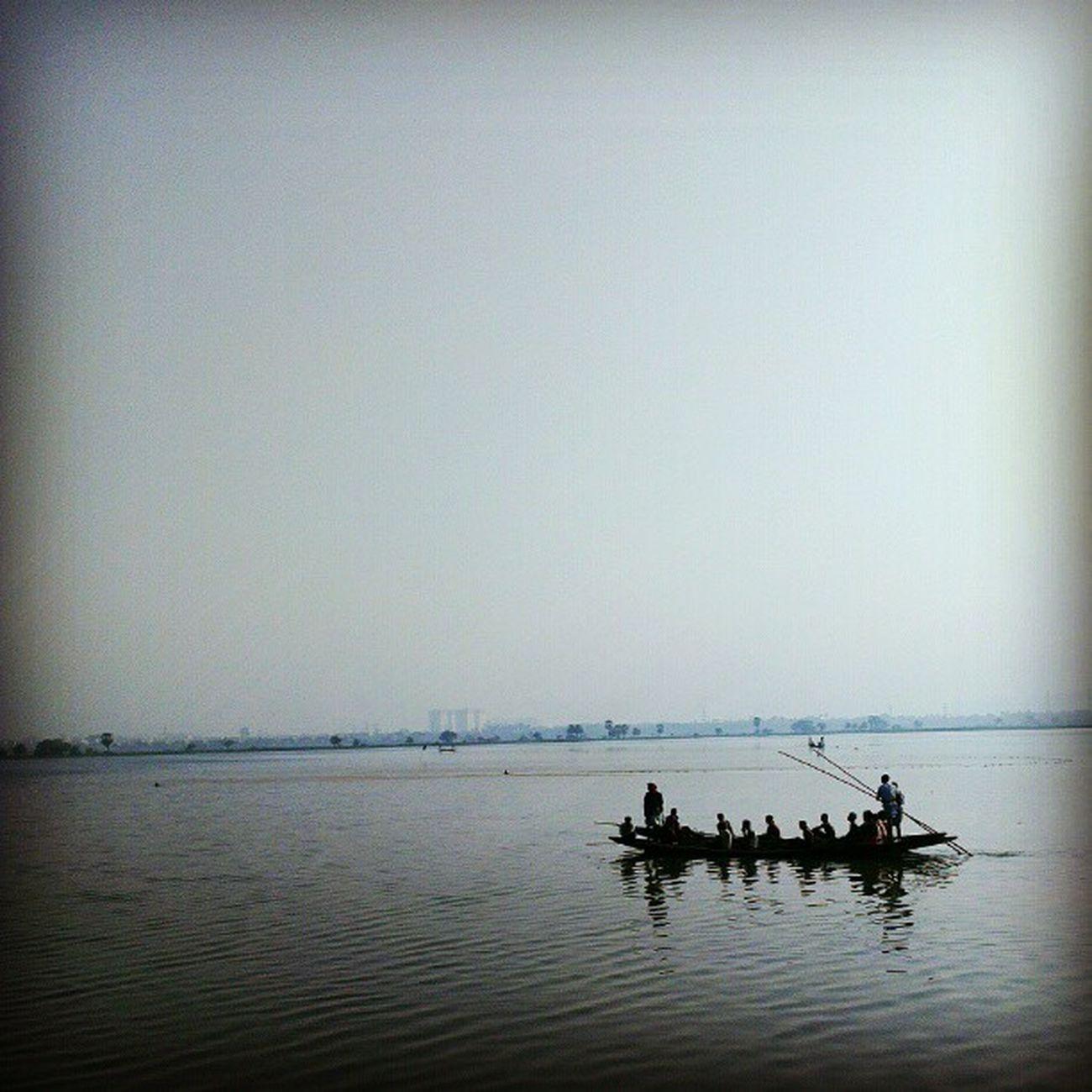 Awesome Wetlands, just a little off the urban jungle... Incrediblecalcutta Calcutta Kolkata Water boat fishing heaven blue