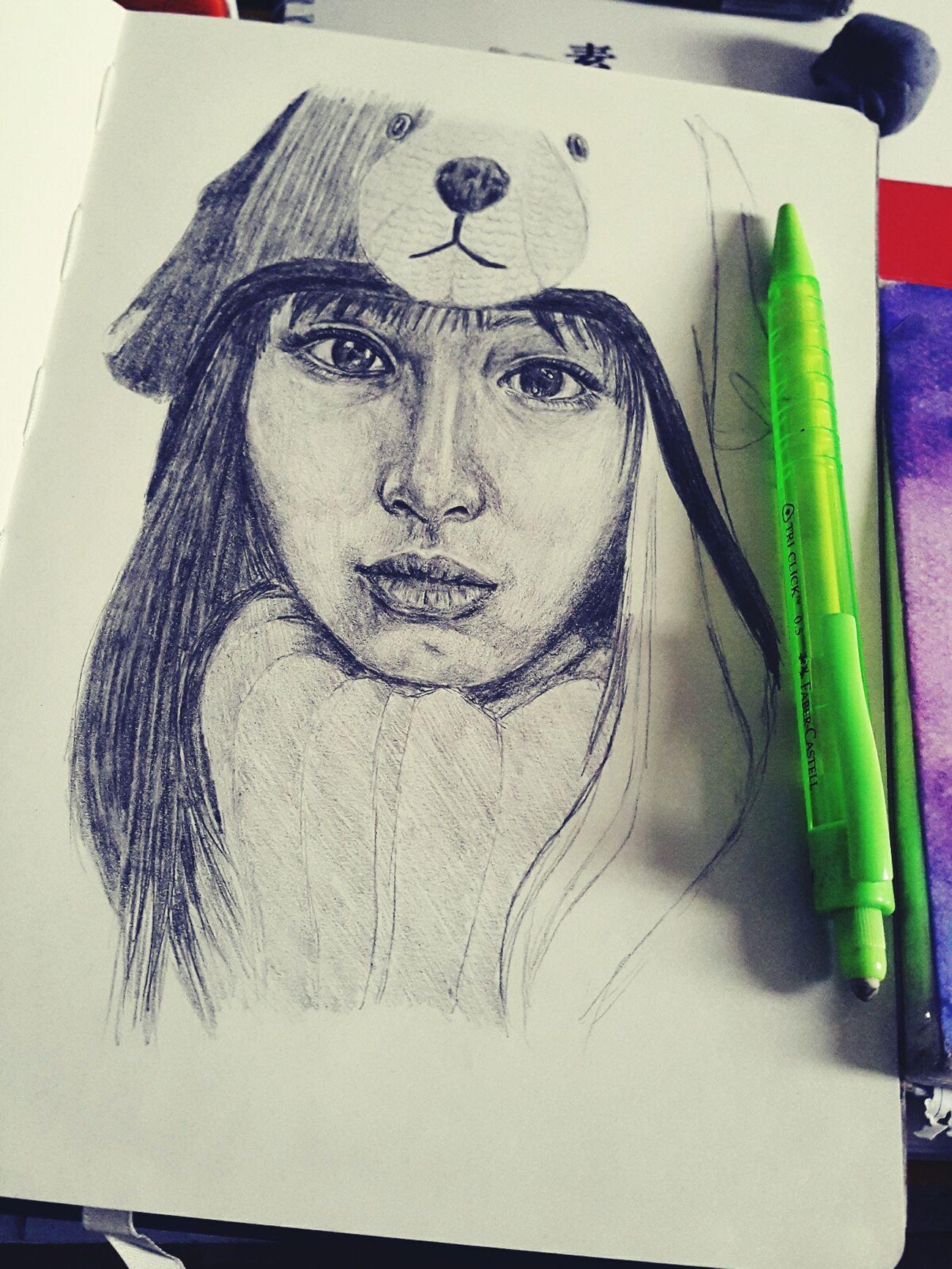 New wip 😁 Art Study Drawing ArtWork Passion Sketchbook Sketch MyArt Beginner Artist Portrait PracticeMakesPerfect Pencil Drawing