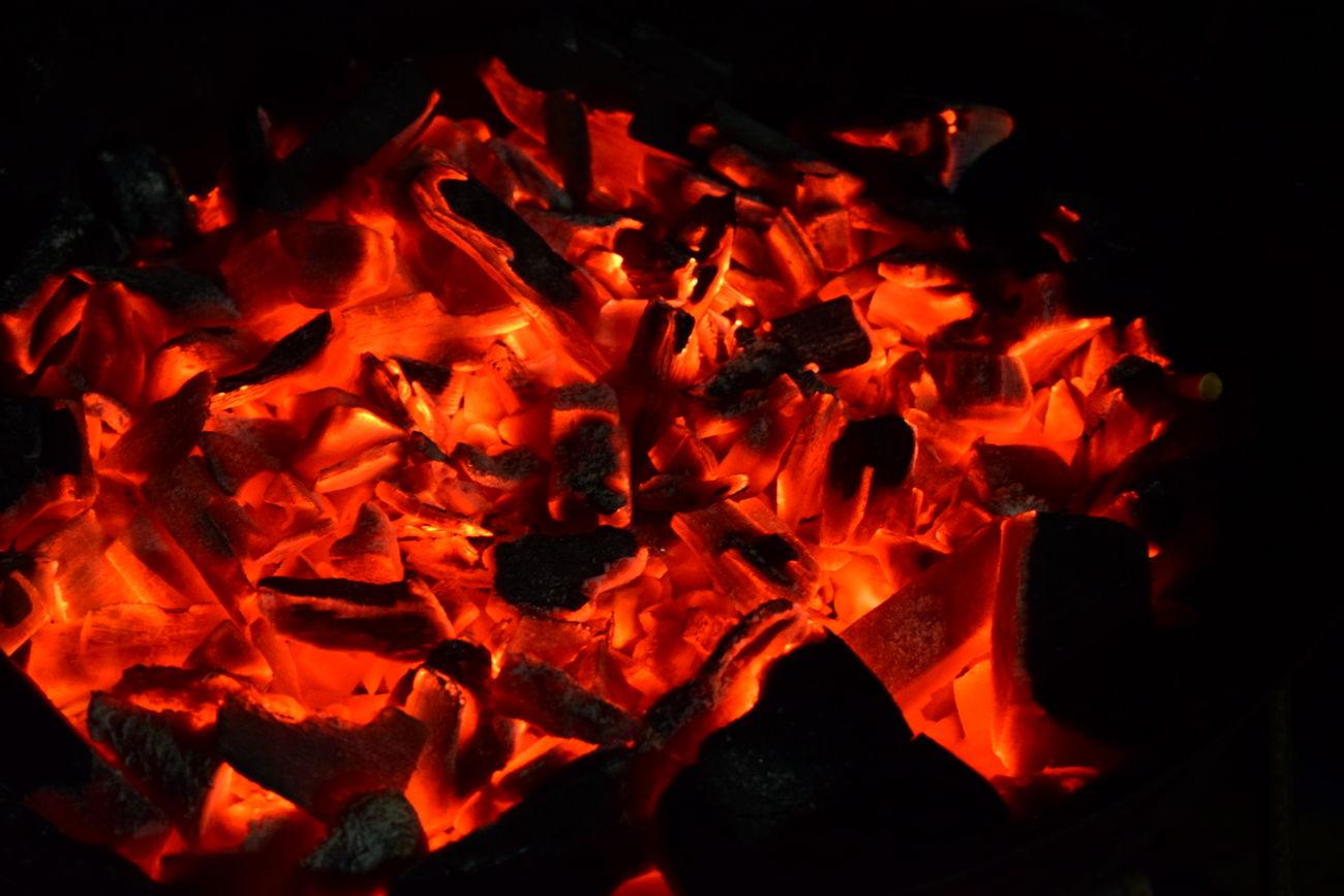 Red Burning Close-up No People Night Heat - Temperature NIKON D5300