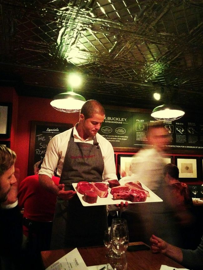 Check It Out Cuts Irish Beef Dublin Steakhouse