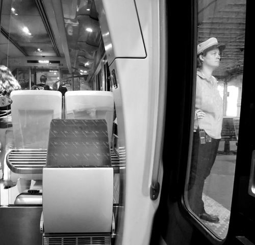 Day Montpellier Real People Streetphotography Blackandwhite Noir Et Blanc Cityscape HuaweiP9 Outdoors People Rail Transportation Your Ticket To Europe Railroad Station Trainstations