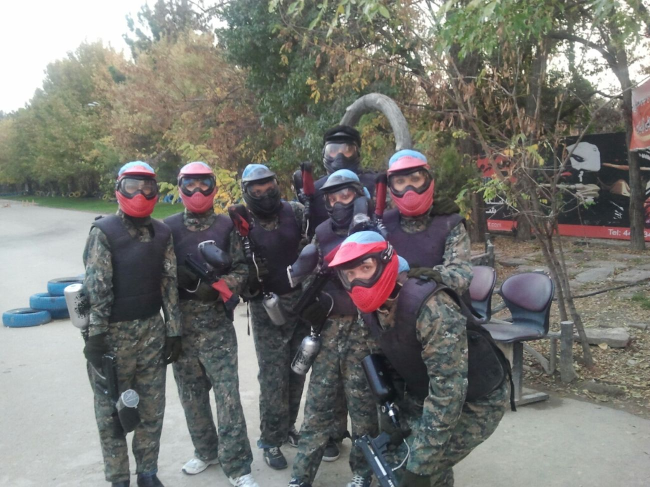 Azadi For Paintball