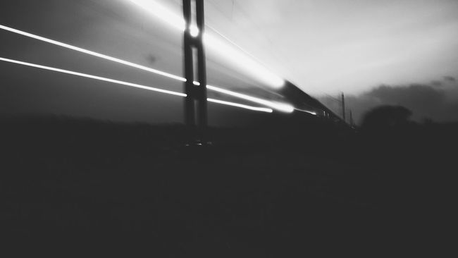Need For Speed Streak Of Light Motion Blur Fine Art Photography