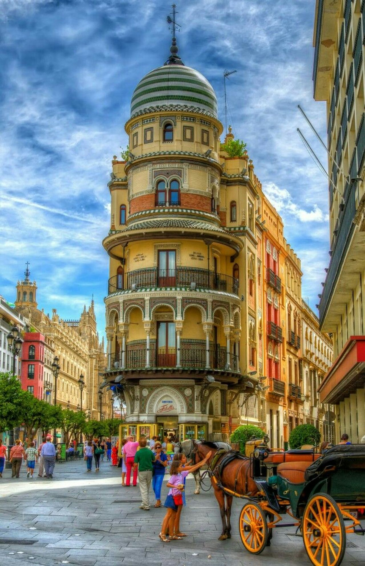 MyCity❤️ Spain ✈️🇪🇸 Seville Architecture Lovecity  Awesome Architecture