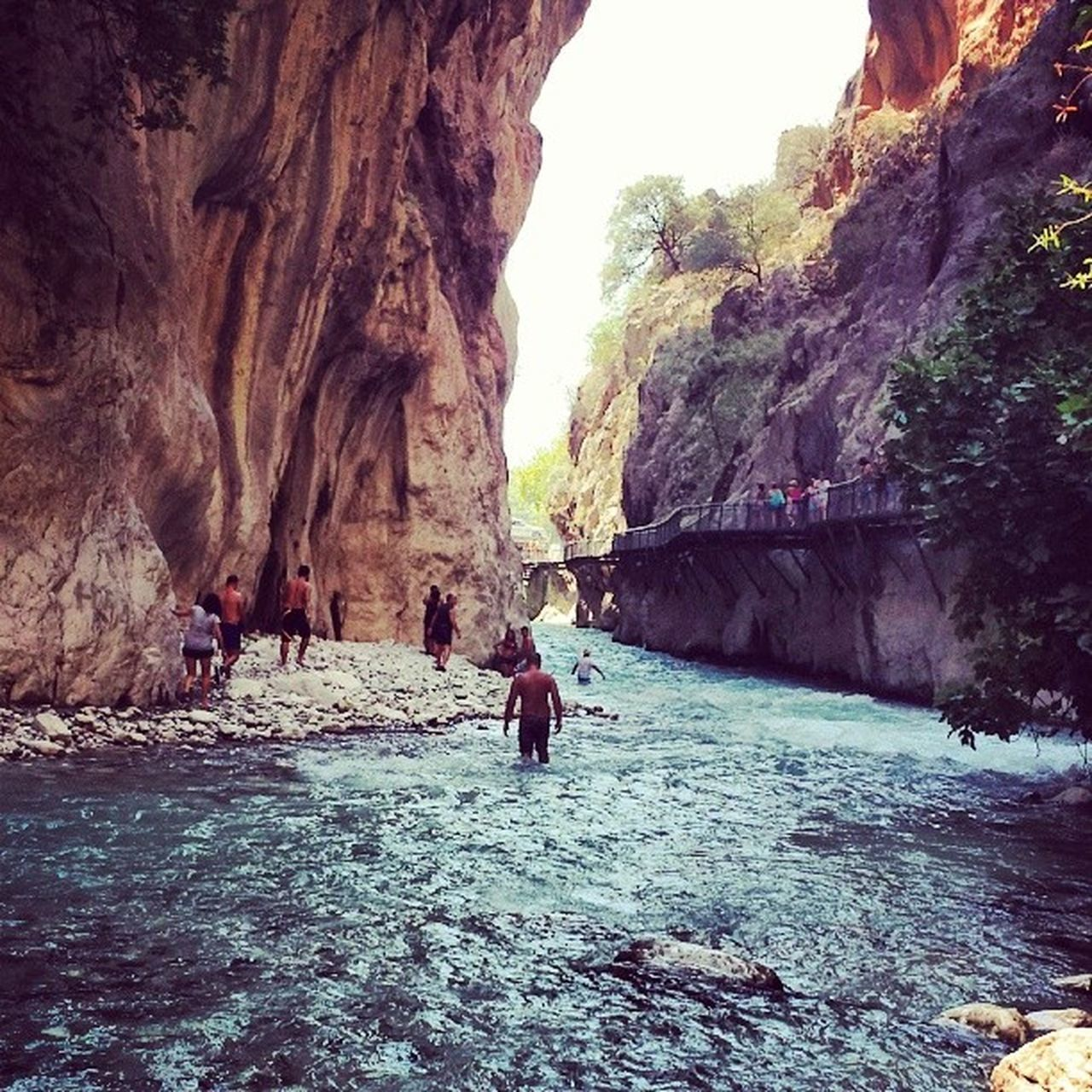 Saklikentgorge Water Beautiful Canyon