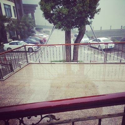 雨下不停~
