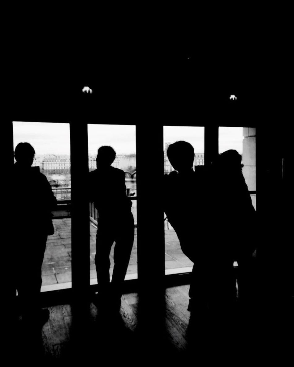 Inside Outside Black & White Contrast Taking Photos Tourists Walking Around Silhouettes People The Moment - 2015 EyeEm Awards Travelling