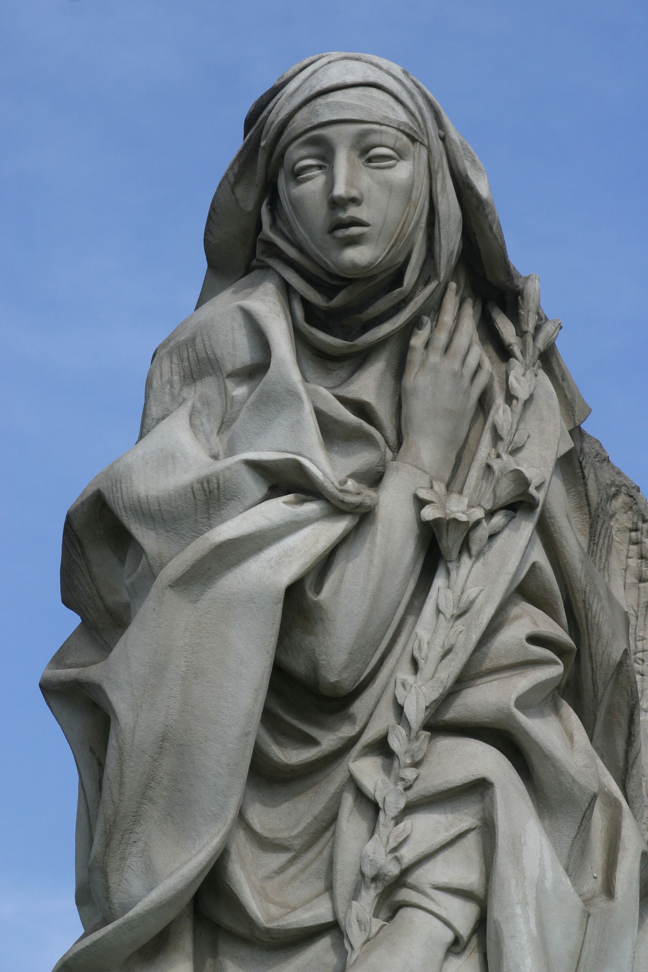 Saint Catherine of Siena, statue in Rome Art Catherine Catherine Of Siena Christianity Creativity Faith Historic Religion Rome Saint Sculpture Siena Statue