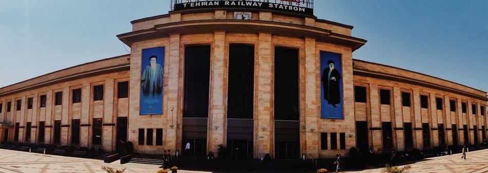 Railway Tehran Station IPhoneography Hello World Streetphotography Architecture Panorama Show Your Hometown How I Sold My First Photo