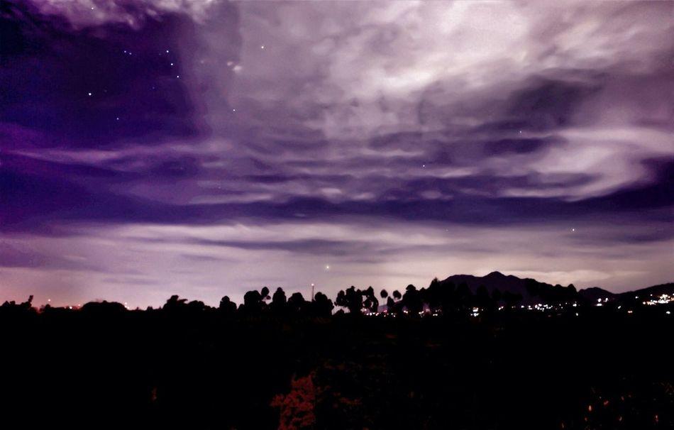 Nightphotography After Midnight Stars