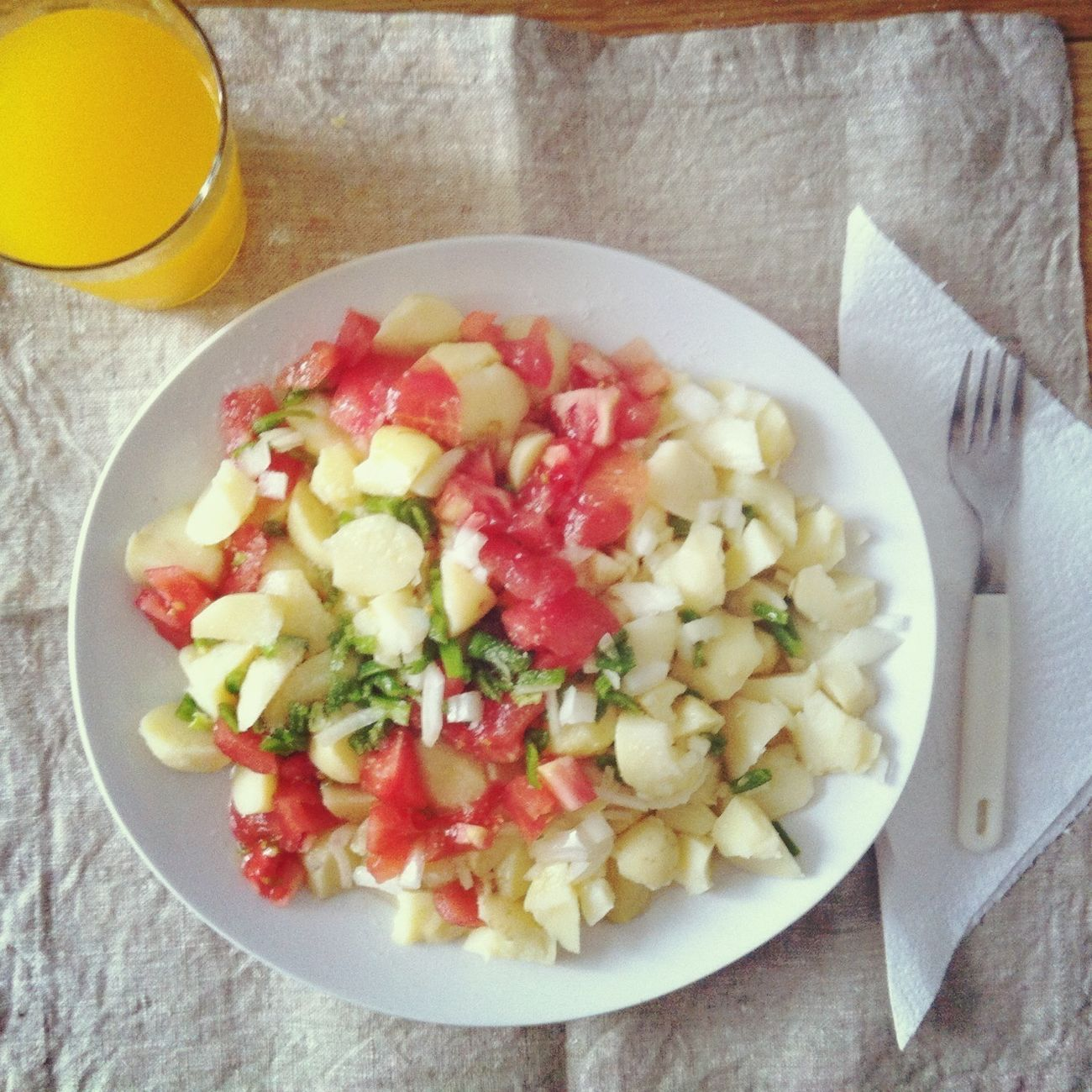 Yummy Lunch Summer Food