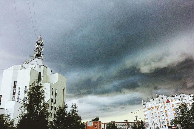Architecture Built Structure Sky City Cloud - Sky City Life Cloud Modern Outdoors Day Dark Dark Clouds NovgorodtheGreat Novgorod Russia