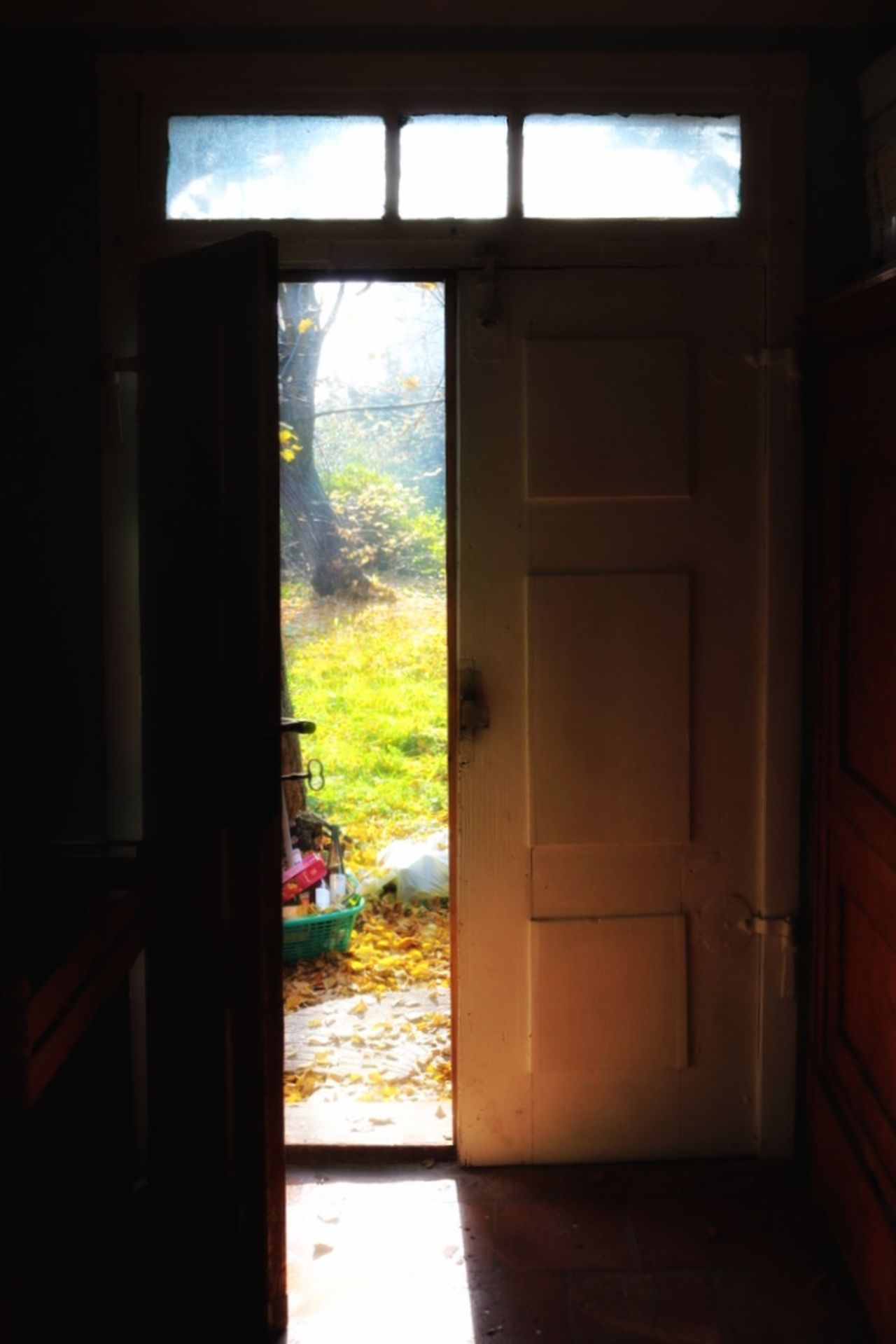 the way out Architecture Domestic Room House Door Doorway Sun