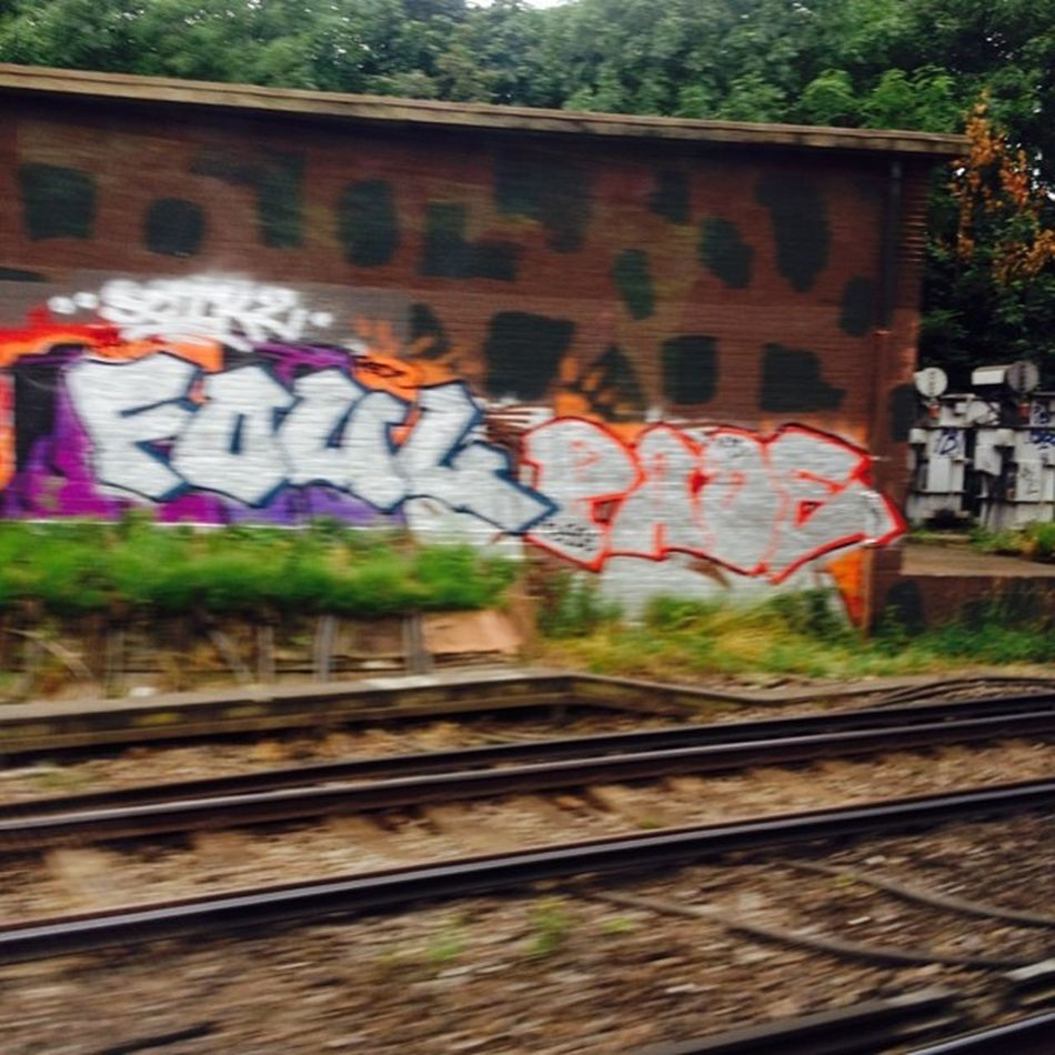 Pade Foul  Bvs 3soe Trainlines WandswortCommon InstaGraff Graffldn LondonGraffiti ?