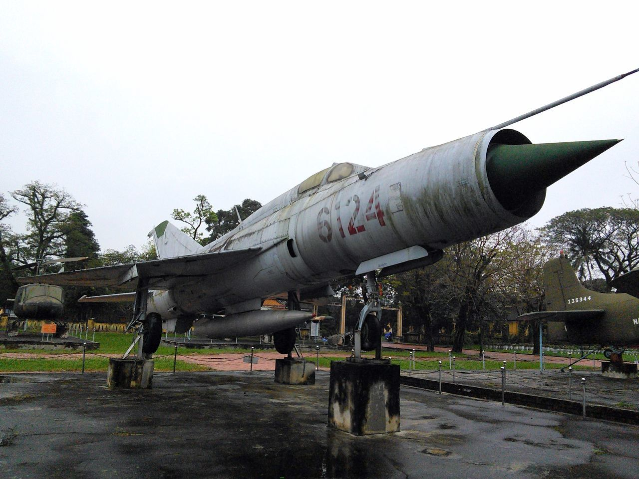 Air Vehicle Airplane American War Clear Sky Day Fighter Fighter Jet Fighter Jets Fighter Plane Hue Vietnam Military Nature No People Outdoors Plane Sky Tree Vacations Vietnam Vietnam War Vietnam War Era Vietnam War Memorial Vietnam War Museum War Weapon
