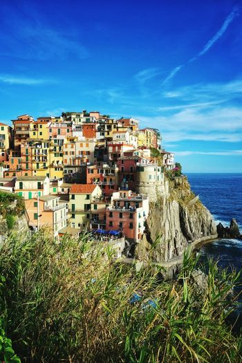 Colors in the reality Manarola