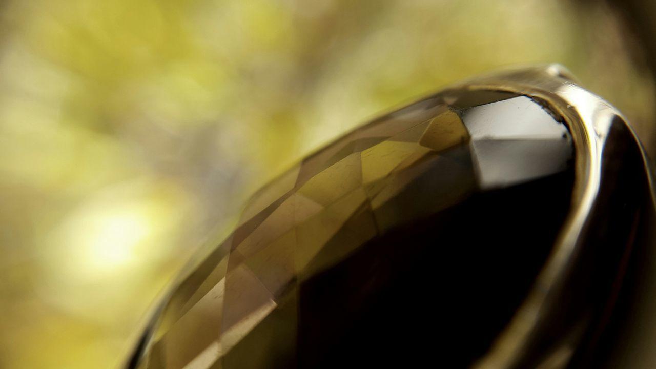 Close-Up Of Gemstone