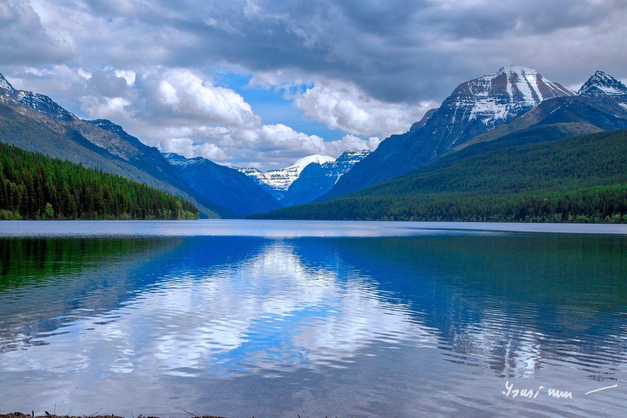 Memories of a lifetime. Glacier National Park Montana Landscape PicturePerfect