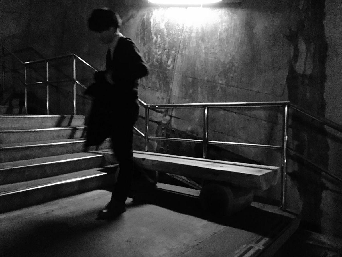 Friend 土合駅 Station Monochrome Blackandwhite Black & White