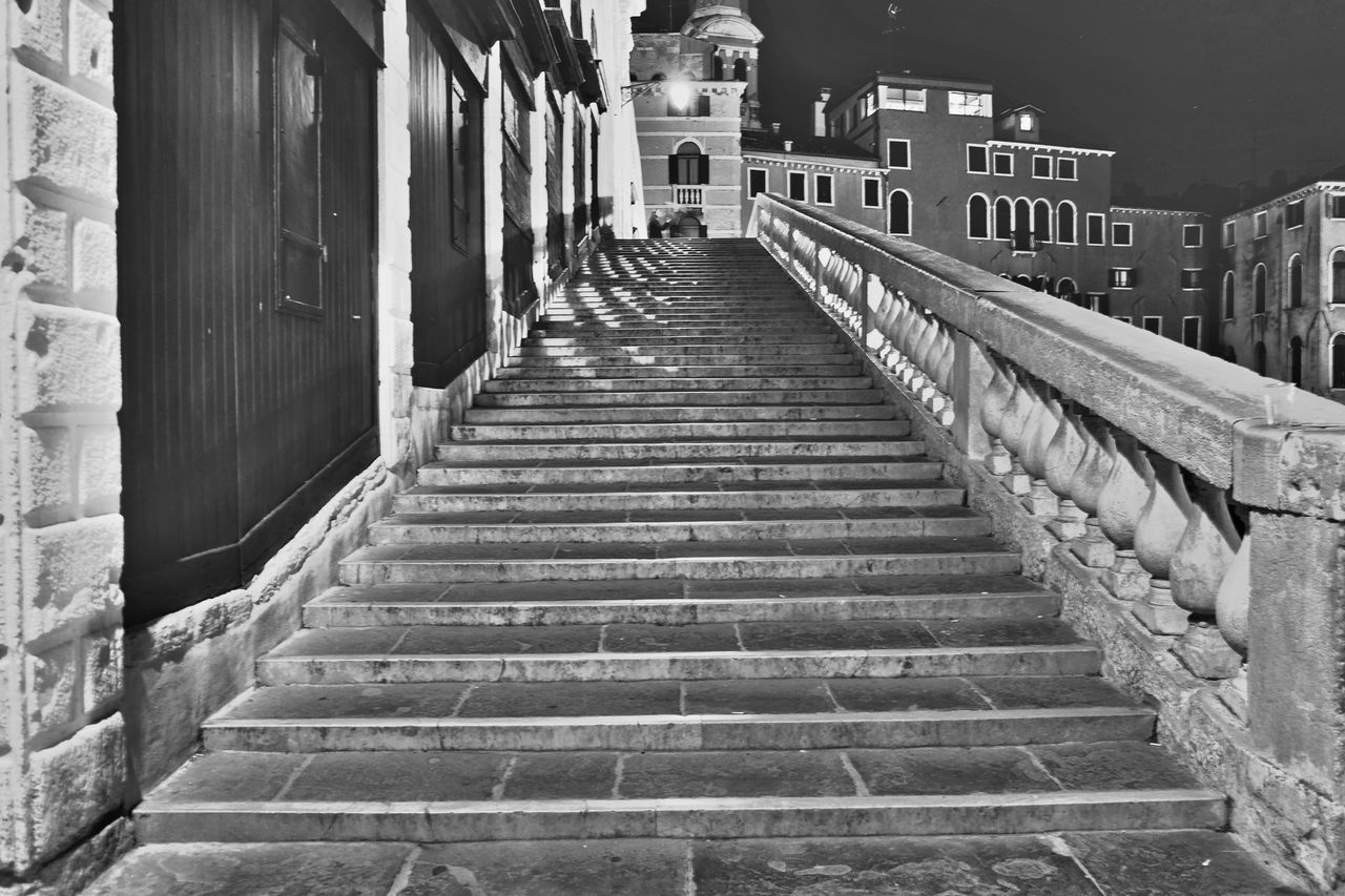 Architecture Black & White Black And White Building Exterior Built Structure City Day Eye4photography  EyeEm Best Shots EyeEm Gallery EyeEmNewHere Night No People Outdoors Staircase Steps Steps And Staircases Street Streetphoto_bw Streetphotography The Way Forward The Week On EyeEm The Week On Eyem Urban Landscape Urbanphotography