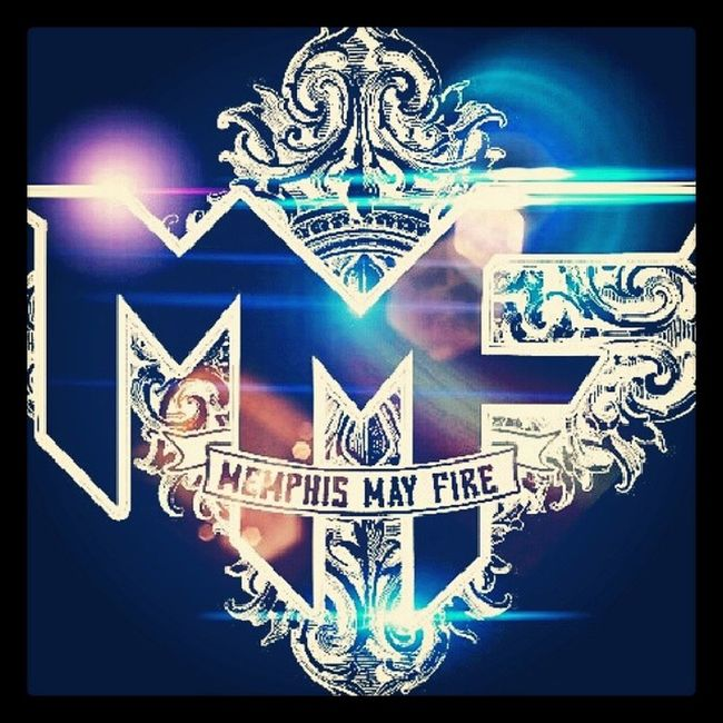 Messing with the Memis May Fire Logo :-) Favoriteband Lensflares NeededANewHomescreen TheSinner @mattymullins @mmfcory @mmfkellen @ant_sepe @jake_garland @memphismayfireofficial BetweenTheLies