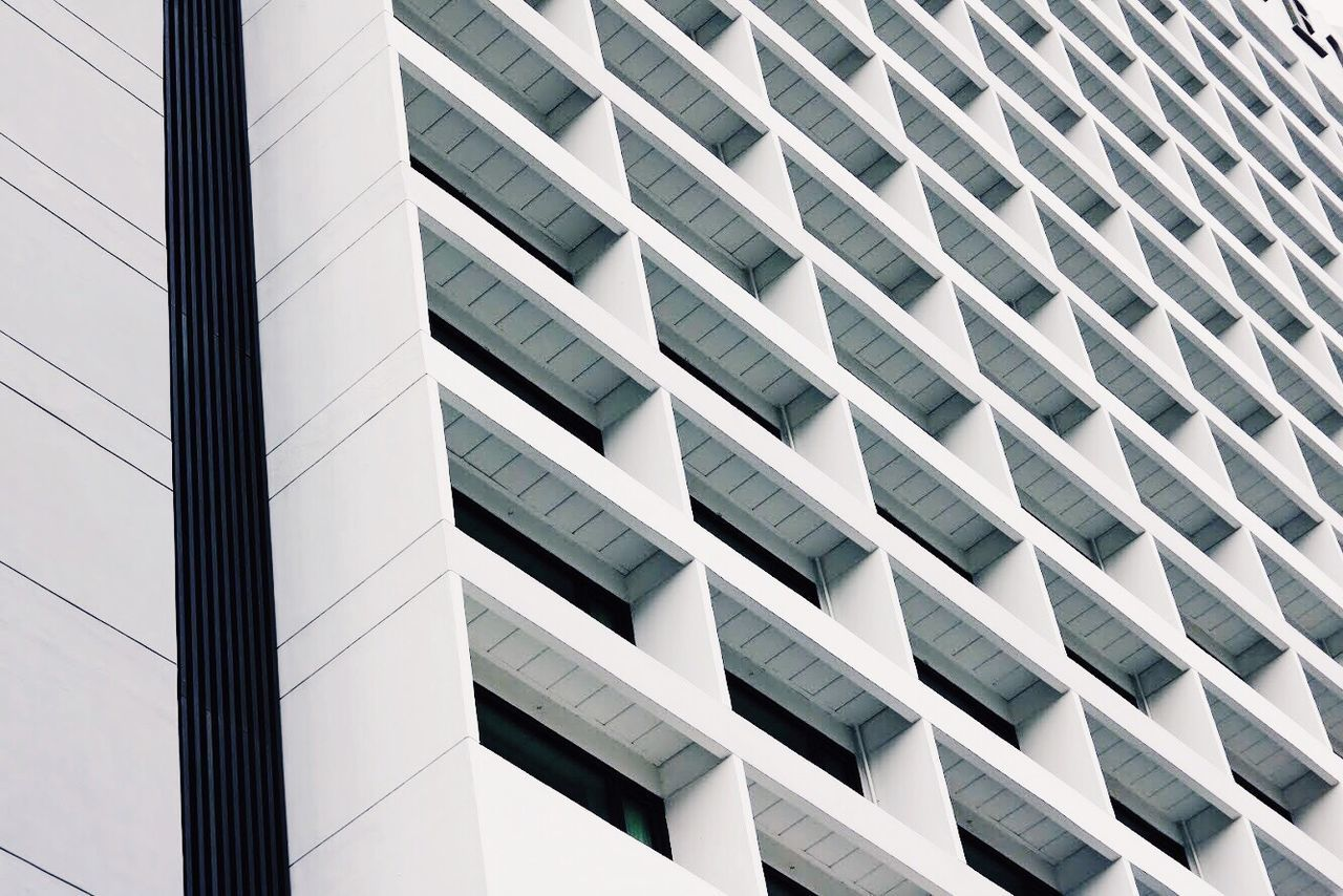 Lines Architecture Built Structure Building Exterior Low Angle View Modern Window No People Backgrounds Day Full Frame City Outdoors White Singapore EyeEmNewHere EyeEm Selects VSCO Modern City White Background Architecture Indoors  Arts Culture And Entertainment