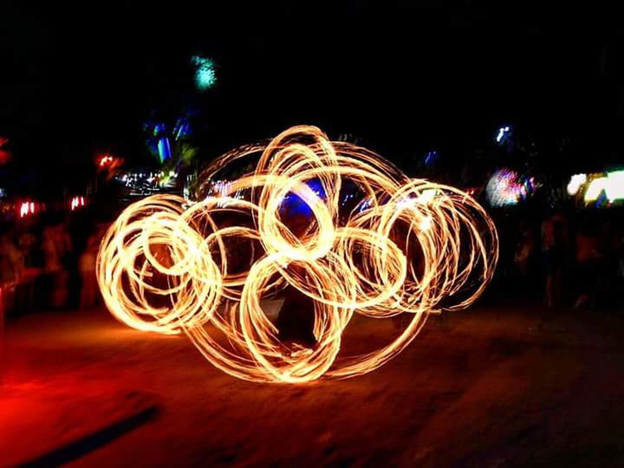 Long Exposure Motion Circle Blurred Motion Speed Arts Culture And Entertainment Fire Dancer koh phangan south thiland has so much to offer and better part of my photos are from and around thailand but this is on one of the parties in koh phangan