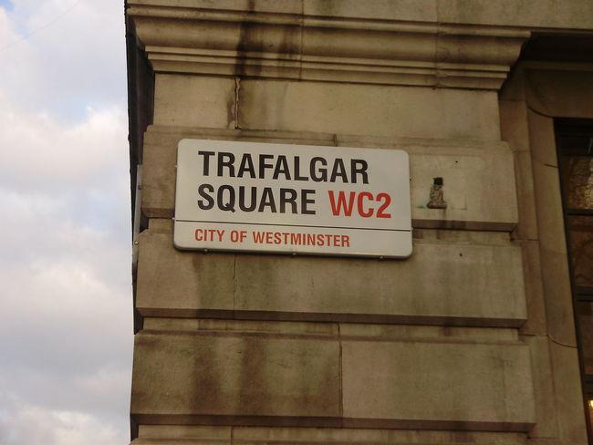 City Communication London Text Tourism Tourist Destination Trafalgar Square Westminster London Lifestyle