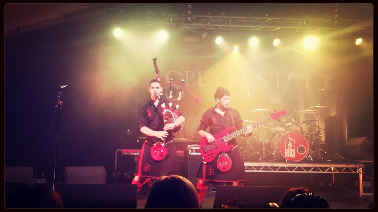Redhotchillipipers t Speyfest