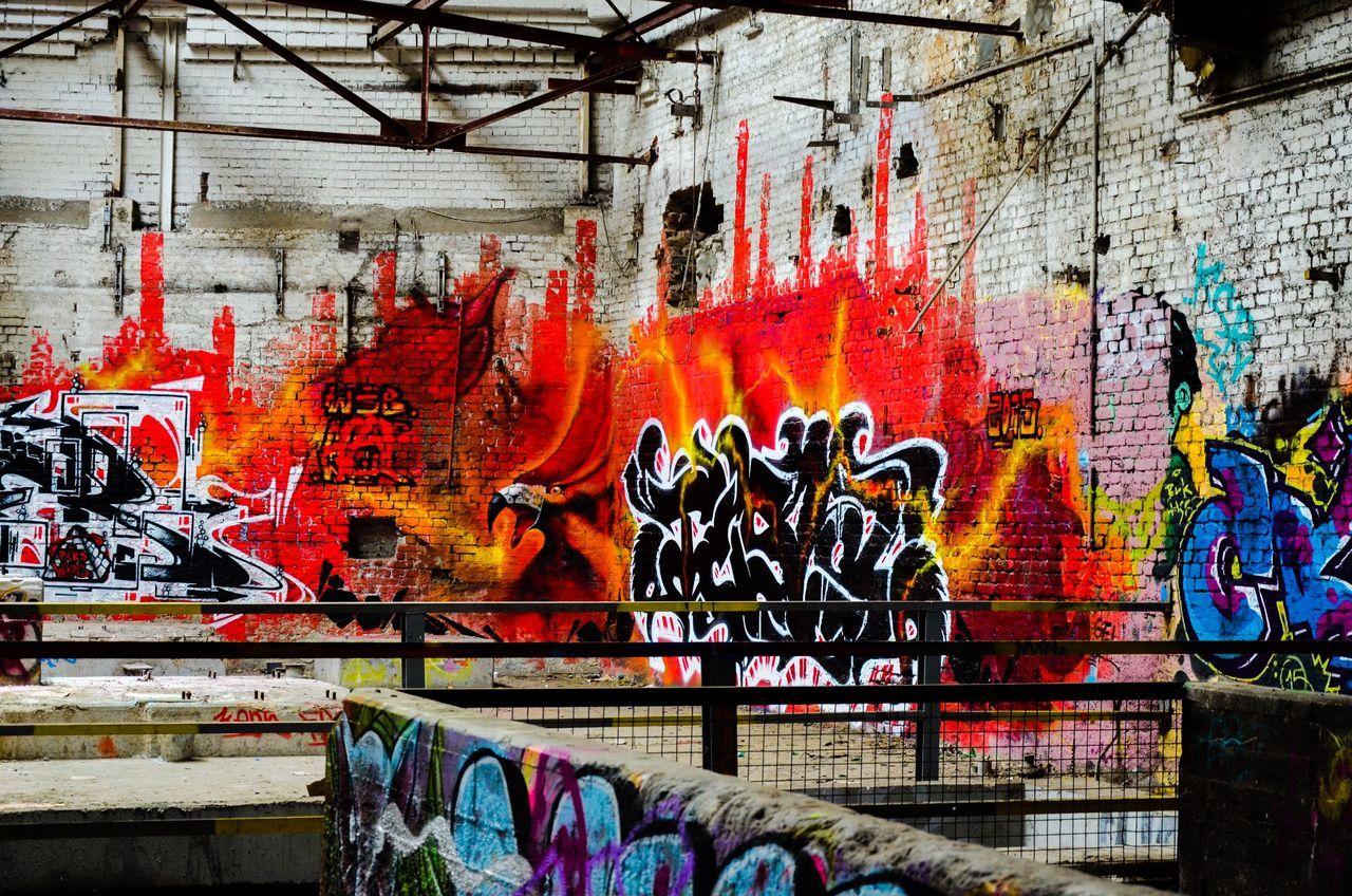 Graffiti Paperfactory Lostplaces Secret Places