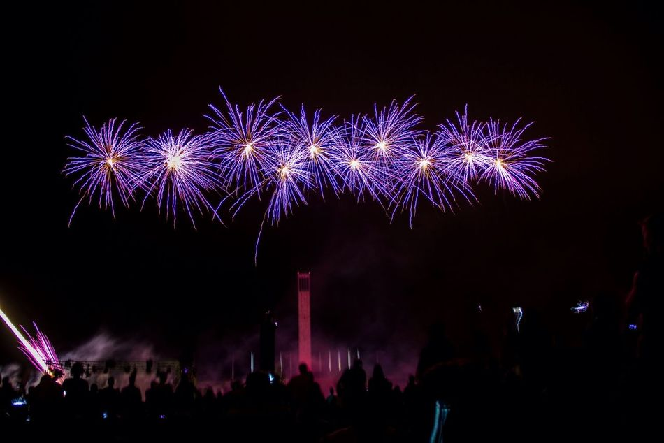 Beautiful stock photos of fireworks, Arts Culture And Entertainment, Audience, Awe, Berlin