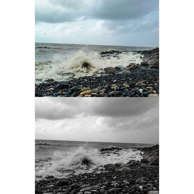 Be where you want to be! Sea Waves Sky Stones Rocks Tide Fortheloveofblackandwhite Skyporn Mumbai Things2doinmumbai Mumbaiinstagrammers Beautiful View MalabarHill Malabarhills Beautifulsky Realxing Takingphotos Somumbai Mymumbai