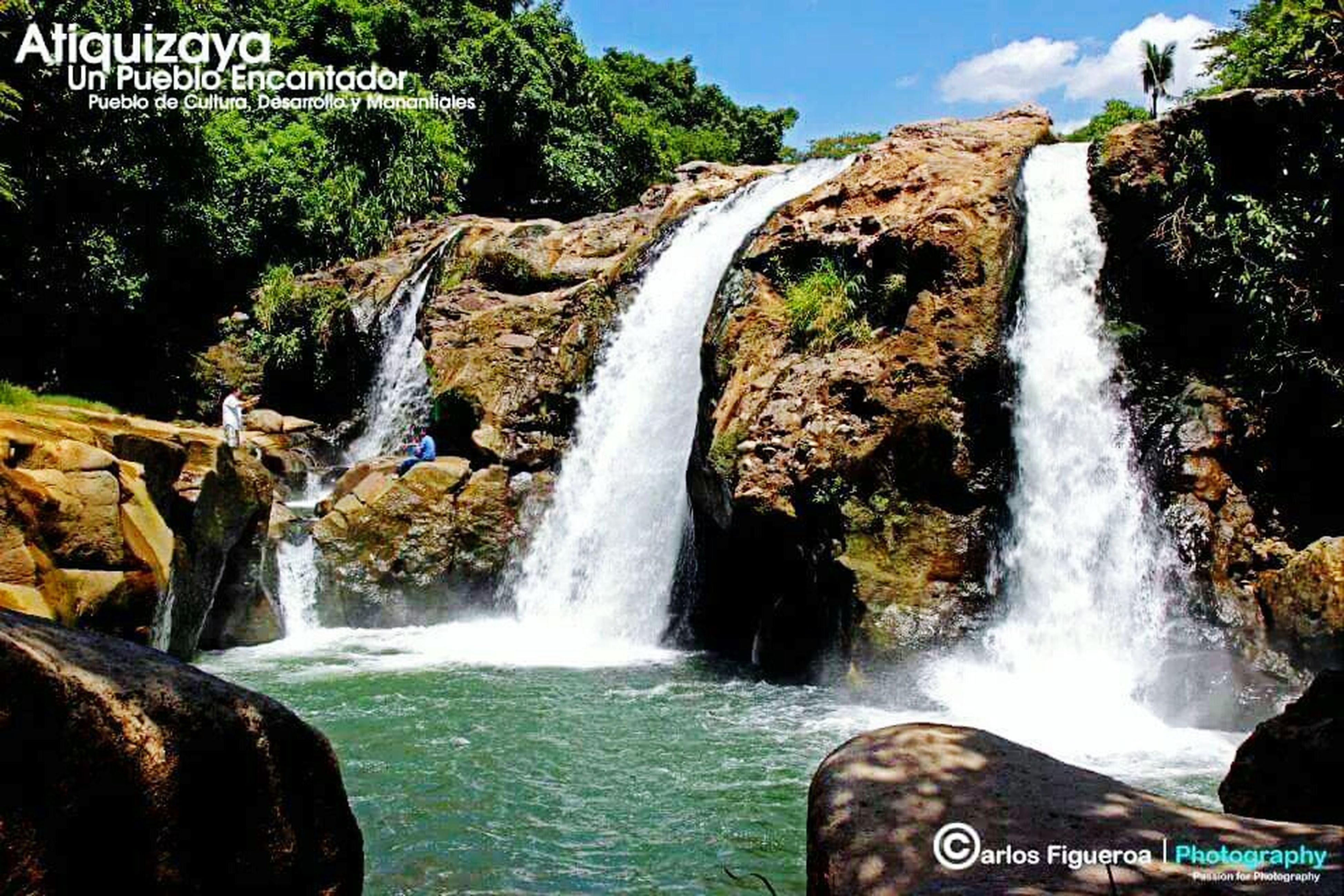 Unos de los lugares mas hermoso de mi hermoso Atiquizaya El impresionante Salto de Malacatiupan Canon CiudadDeManantiales Cultura Atiquizaya VisitamihermosaAtiquizaya