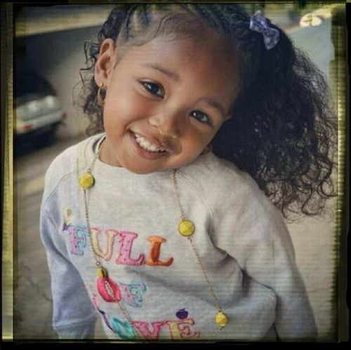 This what my Black-Hawaiian Baby gon look like!!! Lol