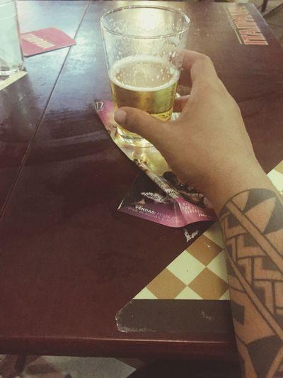 Bebendo sozinho 😉