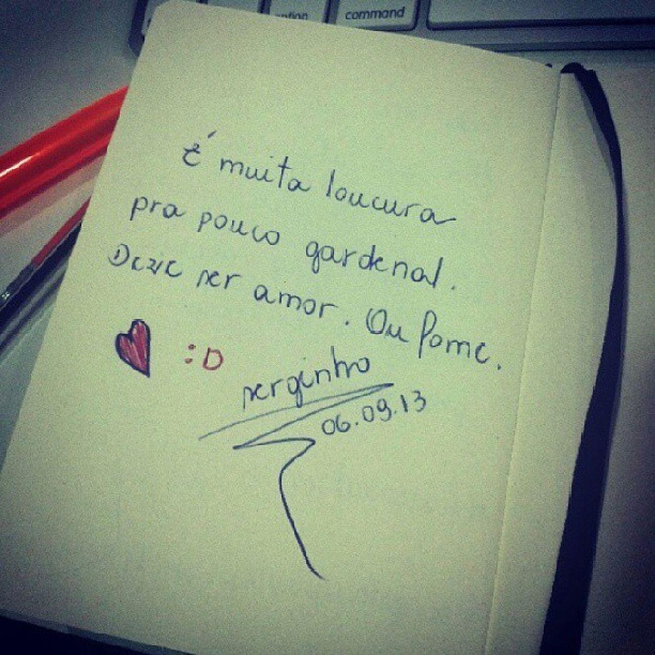 É muita Loucura pra pouco gardenal... by @serginho_gouveia