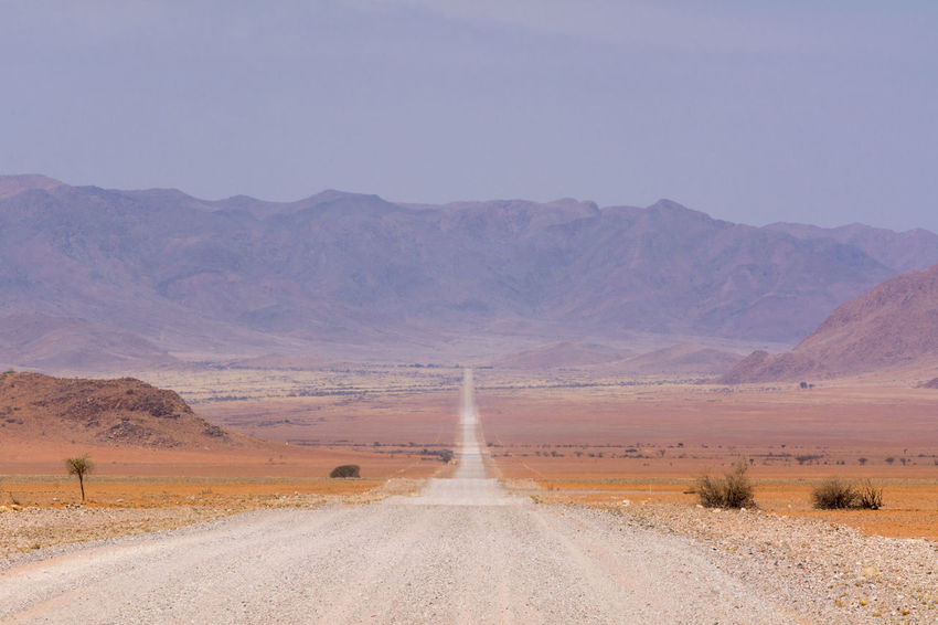 road view in namibia, africa Africa African Arid Desert Dirt Dirt Road Dust Dusty Gravel Gravel And Dust Gravel Road Landscape Landscapes Namib Namib Naukluft National Park Namibia Namibian Nature Road Scenery South Africa The Way Forward Tiras Mountains Travel Traveling
