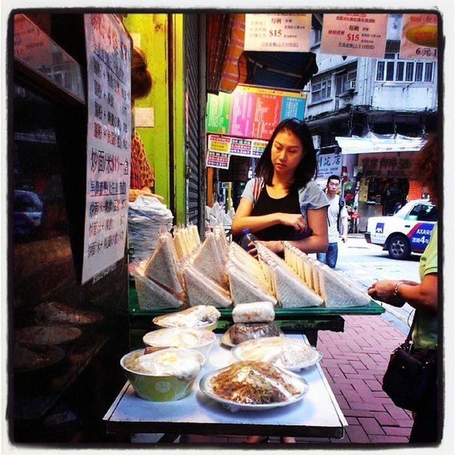 Buy some breakfast meal before work HongKong Localiiz