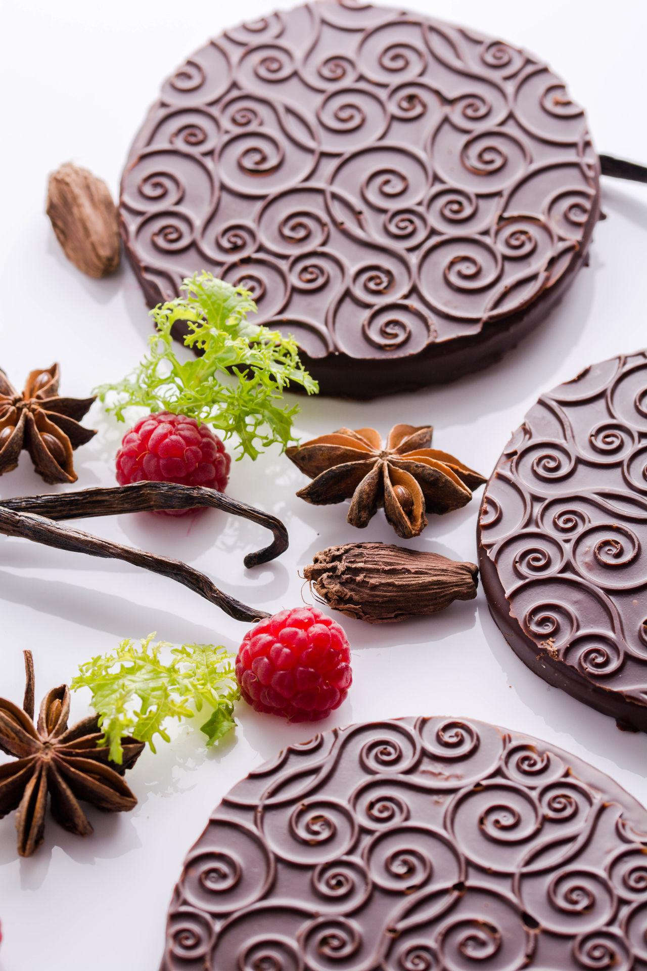 Chokocake Food Linzer No People Staranise Studio Shoot